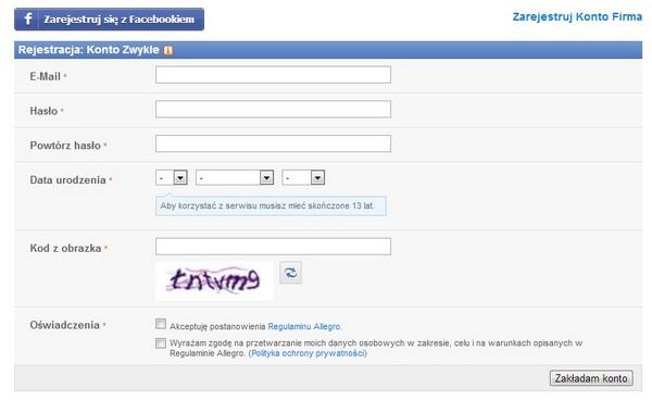 allegro_реєстрація