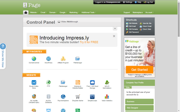 ipage-cpanel
